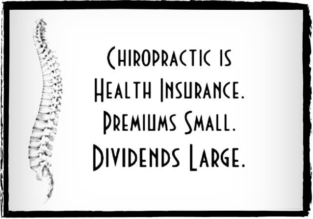 Chiropractic, health insurance, affordable health care
