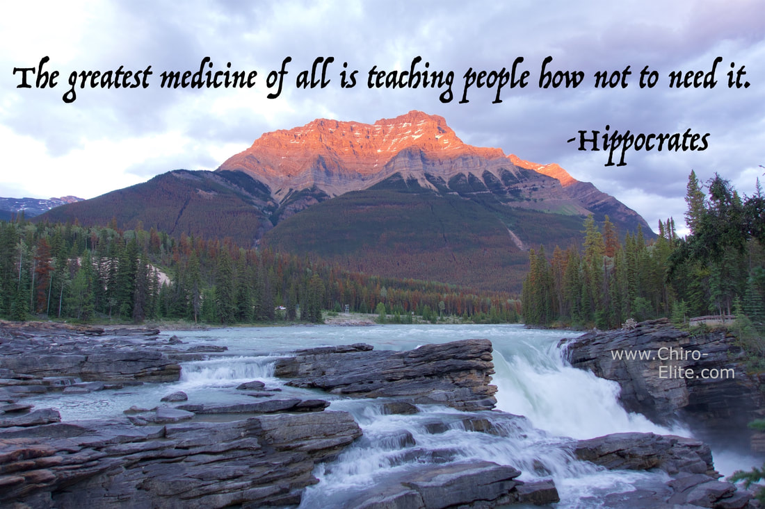 Best medicine quote by hippocrates about teaching people to live healthier.