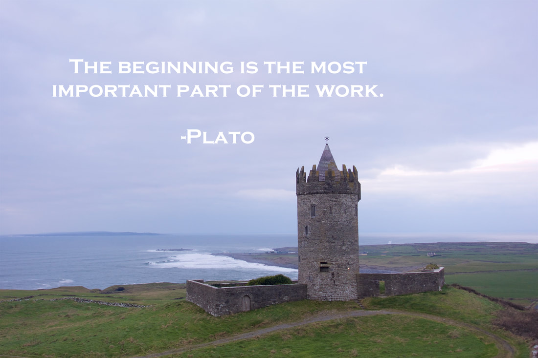 New years quote by plato.