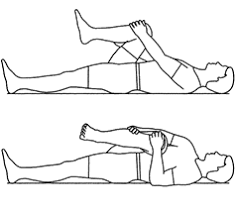 piriformis stretch, low back pain stretch, cure for sciatica